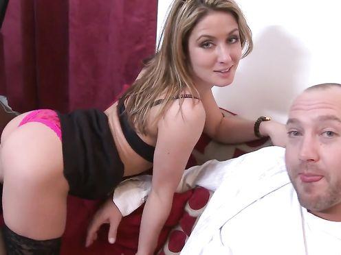 Частное видео секса с офисной шлюшкой