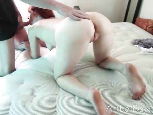 Домашнее видео ебли с рыженькой женушкой